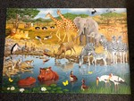 P8005: ANIMAL SAFARI FLOOR PUZZLE