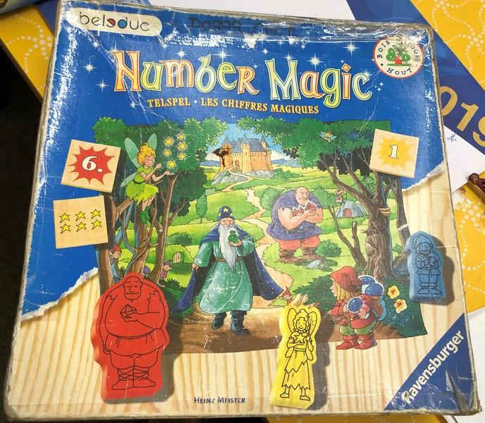 D0999: NUMBER MAGIC GAME
