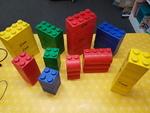 C0001: JUMBO SOFT LEGO BLOCKS