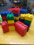 E0026: LARGE SOFT LEGO BLOCKS