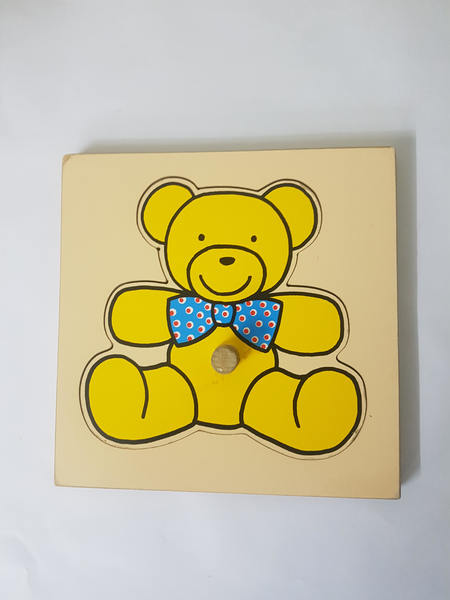 P1209: PUZZLE TEDDY BEAR