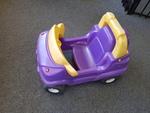 E1011: PURPLE 4X4 CAR