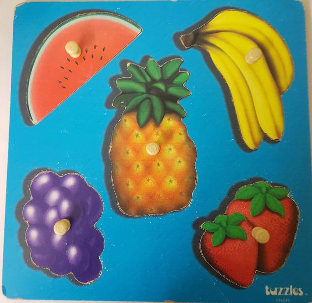 P1919: FRUIT KNOB PUZZLE