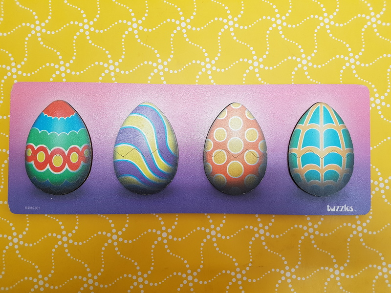 D5046: EASTER EGG MATCH RAISED PUZZLE