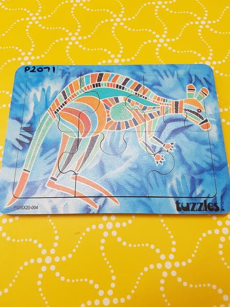 P2071: ABORIGINAL ART - KANGAROO