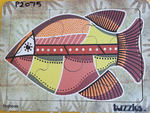 P2075: ABORIGINAL ART - FISH
