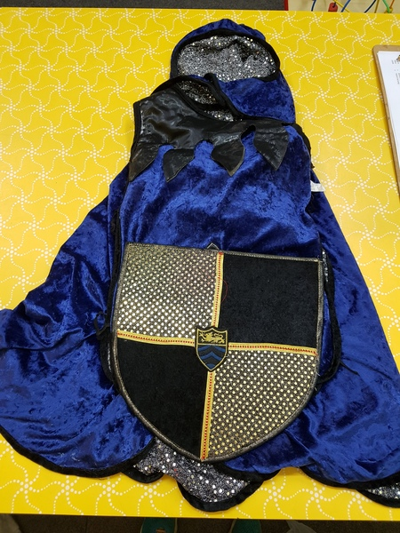D0018: KNIGHT COSTUME - BLUE