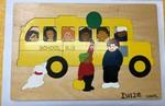 D1128: SCHOOL BUS PUZZLE