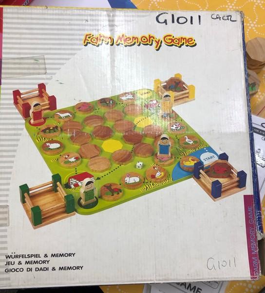 G1011: FARM MEMORY GAME