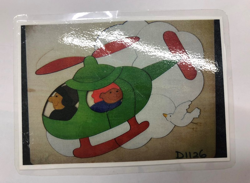 D1126: HELICOPTER PUZZLE