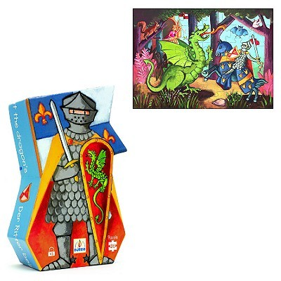 D5067: KNIGHT & DRAGON PUZZLE