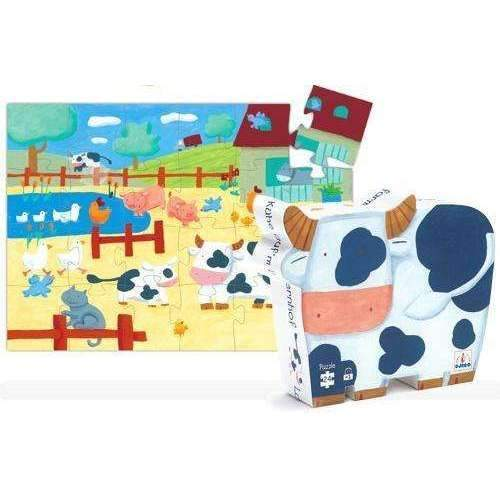 D5073: COWS ON THE FARM PUZZLE