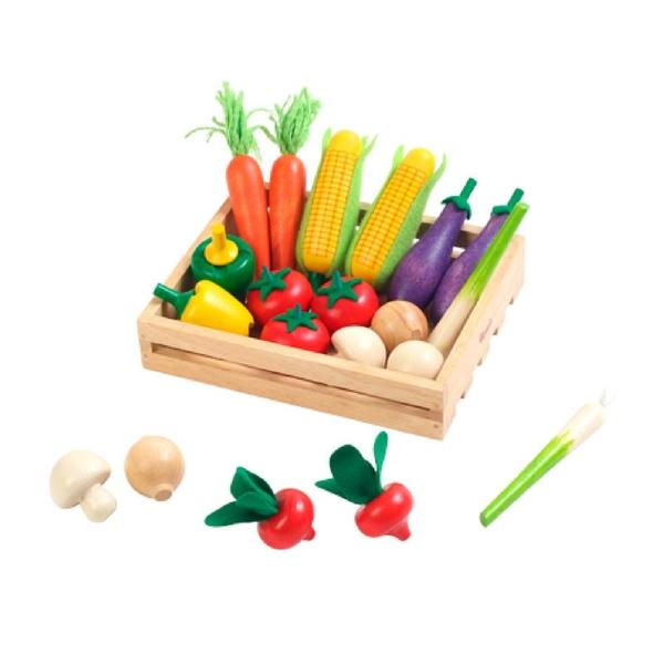 E0023: CRATE OF VEGETABLES
