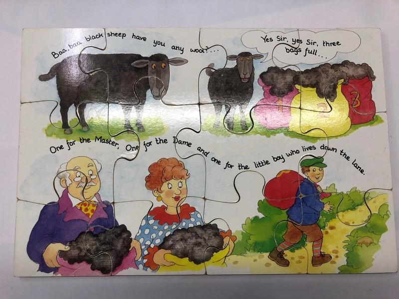 D0007: BAA BAA BLACK SHEEP