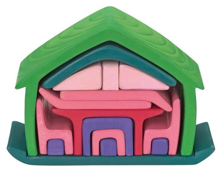 D5086: ALL IN ONE HOUSE - GREEN