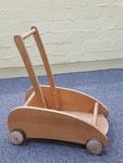 A1147: WOODEN BABY WALKER/CART
