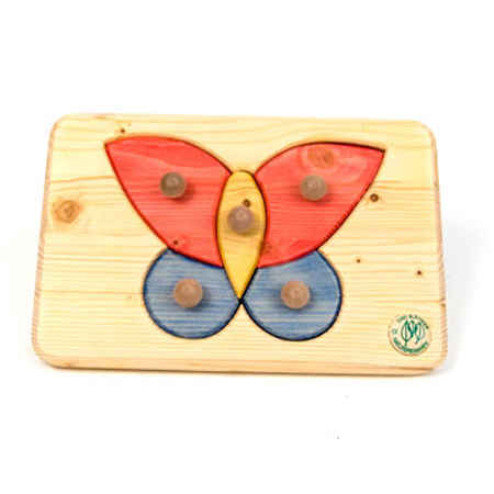 D5091: BUTTERFLY KNOB PUZZLE