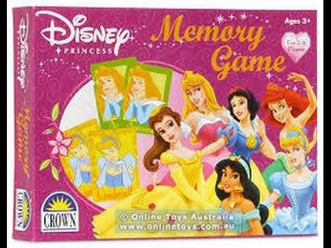 G1035: PRINCESS MEMORY GAME
