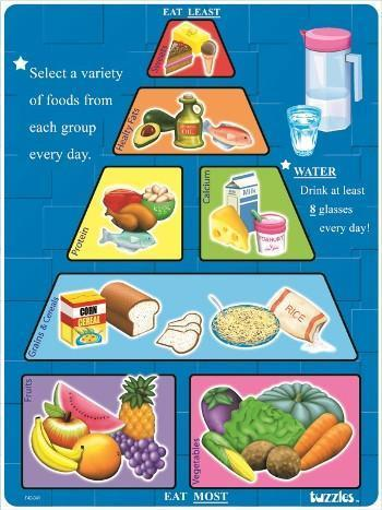 P1004: GOOD FOOD GUIDE TRAY PUZZLE