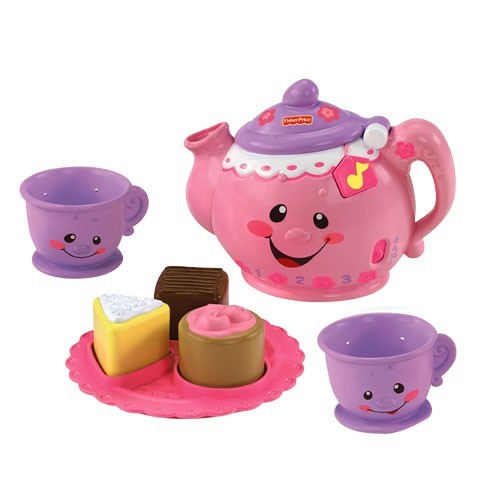 E1198: SAY PLEASE TEA SET