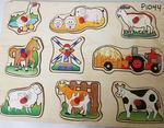 P1044: FARM ANIMAL PUZZLE