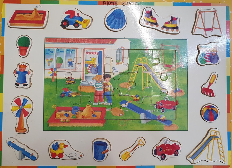 P1075: PLAY GROUND PUZZLE