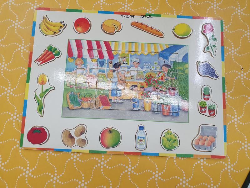 P1078: FRUIT & VEG SHOP PUZZLE