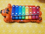 D5117: TIGER PIANO/XYLOPHONE