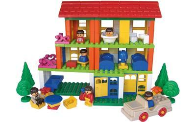 C1163: BLOCK PLAY HOUSE