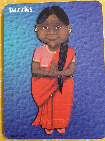 P1105: INDIAN LADY PUZZLE