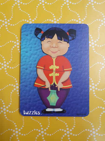 P1106: CHINESE GIRL PUZZLE