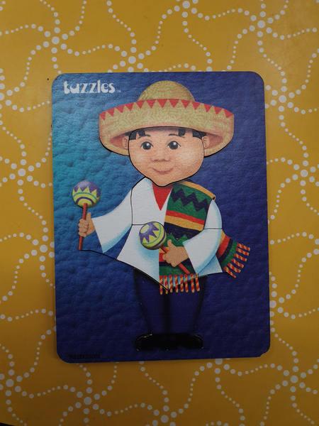 P1108: MEXICAN BOY PUZZLE