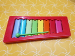 D5121: MULTI COLOURED XYLOPHONE