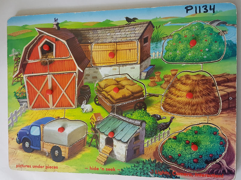 P1134: FARM HIDE N SEEK PUZZLE