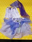 D5131: Petal Princess Dress and Hat