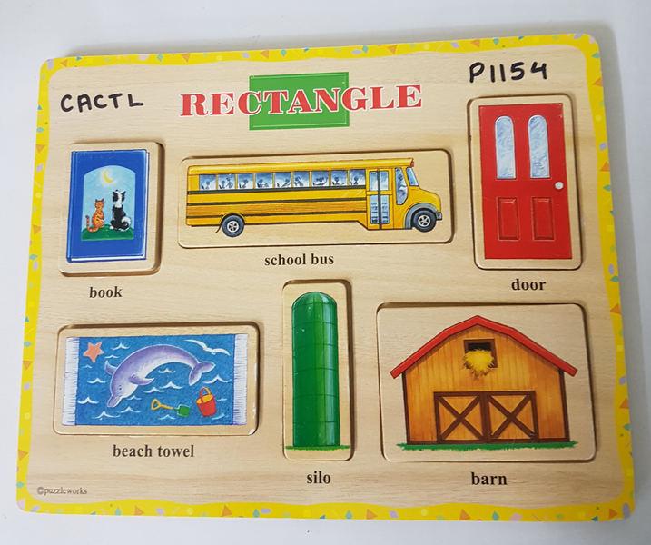 P1154: RECTANGLE SHAPES PUZZLE
