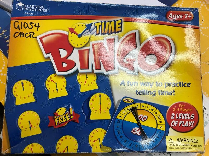 G1054: TIME BINGO