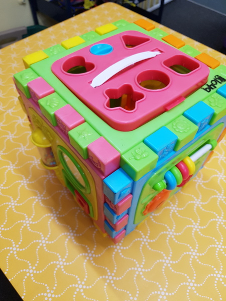 B1049: ACTIVITY CUBE/PLAYMAT