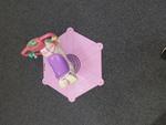 A1207: BOUNCY PINK ZEBRA