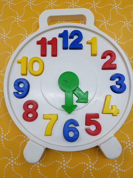 G1878: TELLING THE TIME CLOCK