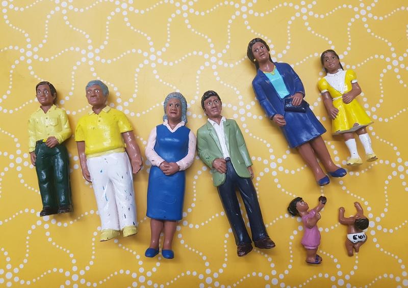 E1087: ASIAN FAMILY SET