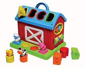B1052: BARN SHAPE SORTER