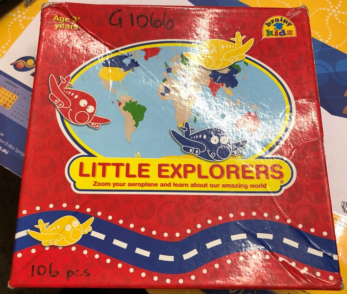G1066: LITTLE EXPLORERS GAME