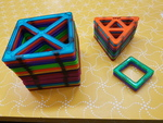 C1045: MAGFORMERS MAGNETIC BUILDING