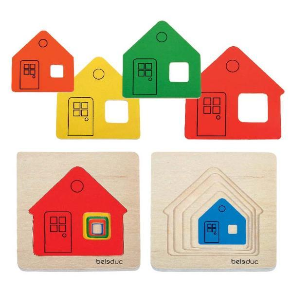 P1165: LAYER HOUSE PUZZLE