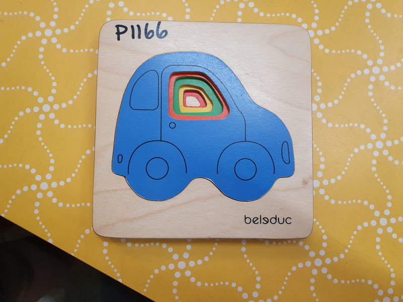 P1166: CAR LAYER PUZZLE