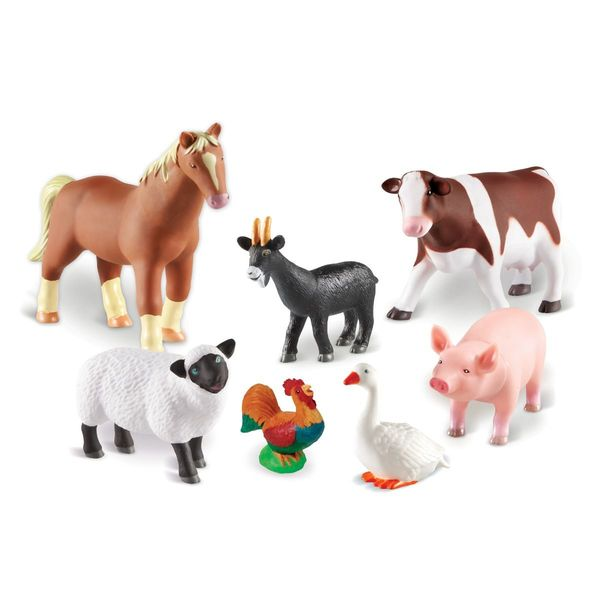 E1411: JUMBO FARM ANIMALS