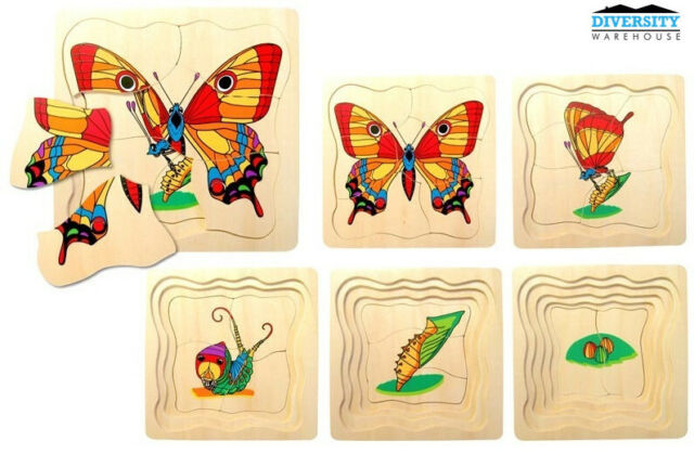 P1006: BUTTERFLY LAYER PUZZLE