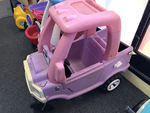 A5043: PINK COZY COUPE TRUCK