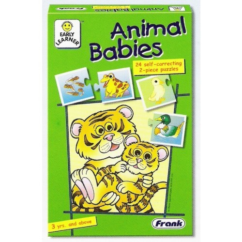 P1011: ANIMAL BABIES PUZZLES